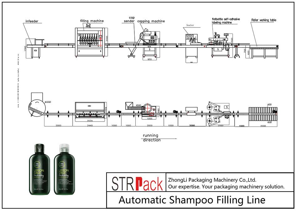 Garis Pengisi Shampoo Otomatis